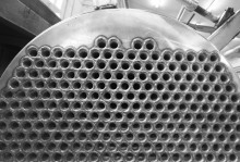 Anti-scale device for shell-and-tube heat-exchangers