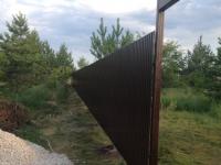 Установлен забор под ключ в с. Кондурча