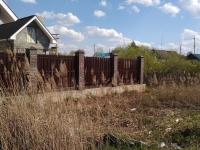Забор установлен в Кинеле