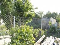 Забор из сетки рабицы под ключ, высота 1,5 метра, длина 35 метров. СДТ Орлов Овраг.