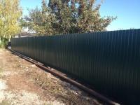 Установлен забор в с. Красный Яр