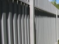 Установлен забор (г. Самара, 9-я просека)