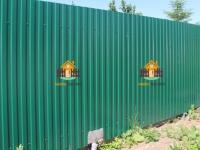 Забор из профлиста (СТД Энтузиастов) - 16 метров