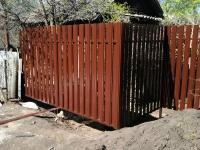 Специалистами компании ZVS63 был установлен забор в ДПК Победа Октября на 9 линии.