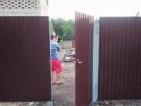 Установлен забор по адресу Сорокины Хутора 20 линия