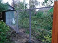 Забор под ключ 7-я просека, 4 проезд (г. Самара)