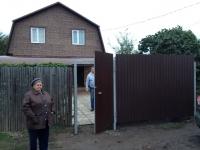 Ворота и калитка под ключ в СНТ Труд
