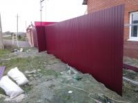 Забор под ключ Усть-Кинельский пос. Студенцы