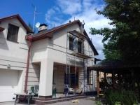 Реставрация деревянного забора, беседки и крыши дома 8 просека