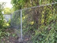 Забор из сетки рабицы под ключ Водинский дачный массив