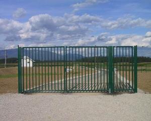Забор из профтрубы цена