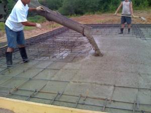 Бетонирование площадок под ключ в Самаре