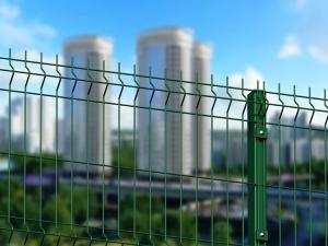 Забор 3D для предприятия