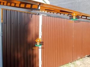 Забор под ключ из профлиста в Самаре