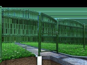 Заборы 3D Gitter