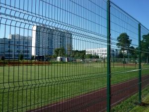 Забор 3d для стадионов