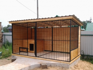 Вольер для собаки в Самаре