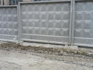 ФБС ограждения (бетонные блоки)