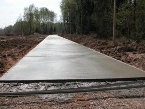 Заказать бетонирование площадки
