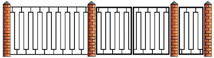 Заказать забор из профтрубы